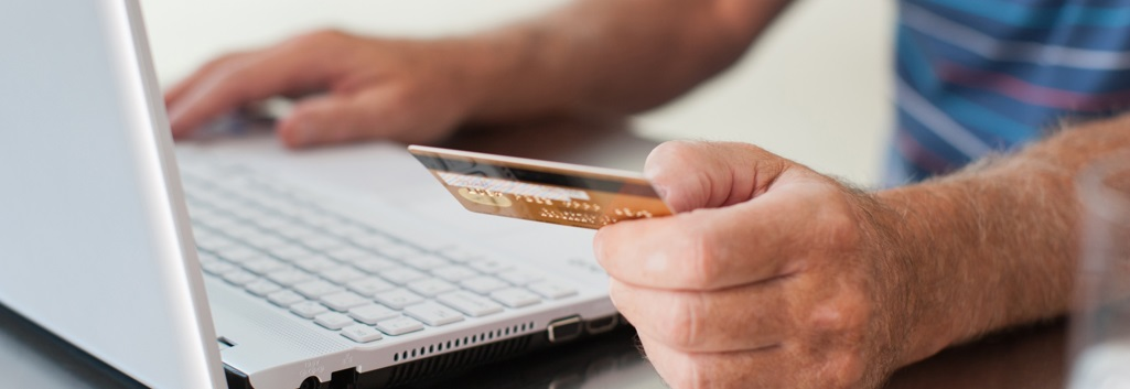 Picture of Person Making Online Payment